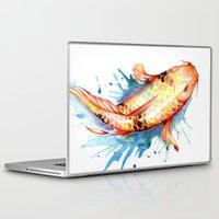 koi Laptop & iPad Skins featuring Koi by Sam Nagel