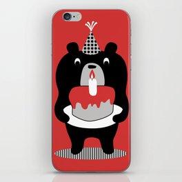 Cake Bear iPhone Skin