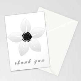 Cute Sheer Jasmin Flower Stationery Cards