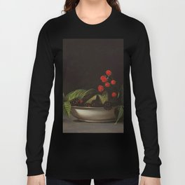 Blackberries - Raphaelle Peale - c.1813 Oil Paintig Long Sleeve T-shirt