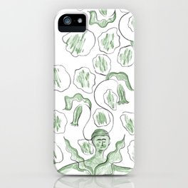 Thinker of Tender Thoughts iPhone Case
