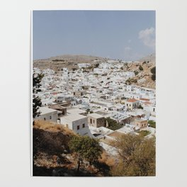 Lindos, Rhodes Poster
