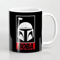 boba Mugs featuring Defy-Boba by IIIIHiveIIII