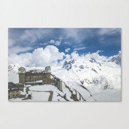 Swiss Mountains Canvas Print