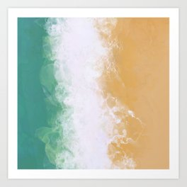 Key West - Beach Art Print