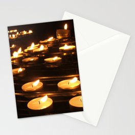 Joan of Arc's Candles Stationery Cards