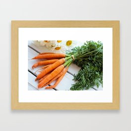 Carrots Framed Art Print