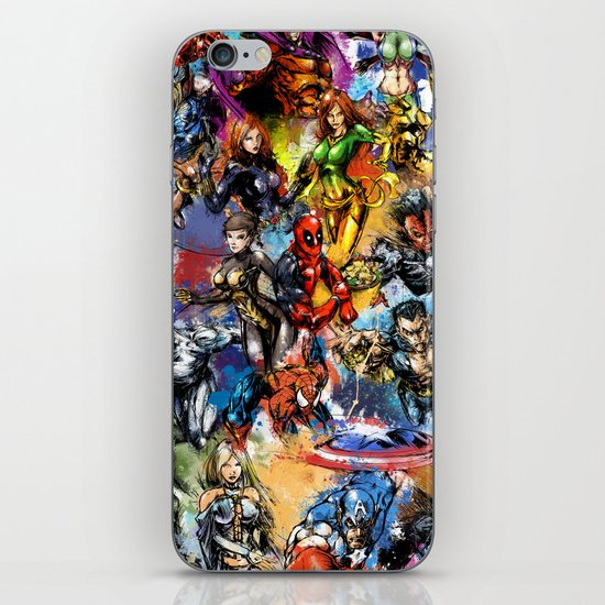 Marvel MashUP iPhone & iPod Skin