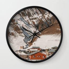 Small Village in Georgia Wall Clock