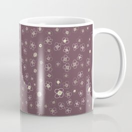 Sunset in Odense X Hand drawn doodle floral Coffee Mug