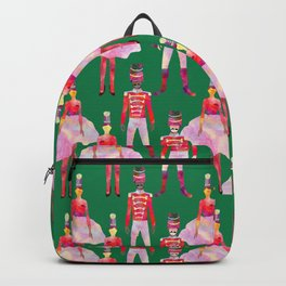 Nutcracker Ballet - Green  Backpack
