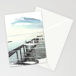 Ammersee in Bavaria - T-Shirt-Design Stationery Cards