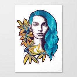 AROHA Canvas Print