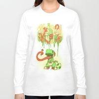 yoshi Long Sleeve T-shirts featuring Yo Yoshi! by Krissy Diggs