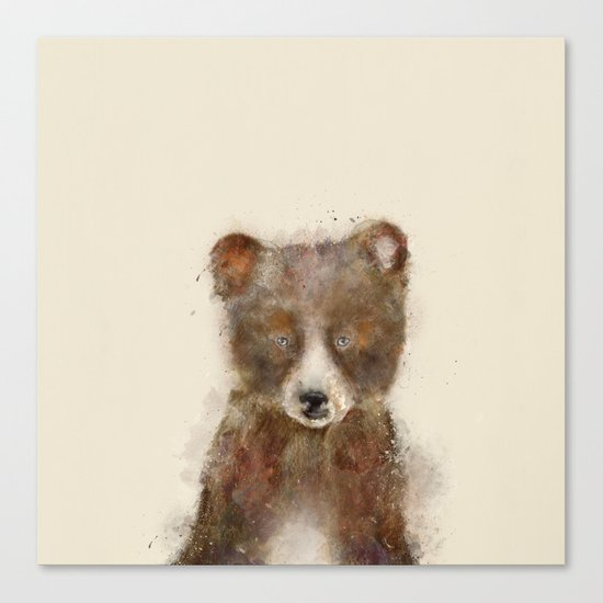 Little grizzly Canvas Print