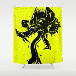 punkpunkandpunk Shower Curtain