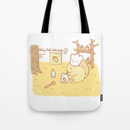 Squirrel Jam Tote Bag