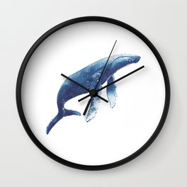 Humpback Whale Wall Clock
