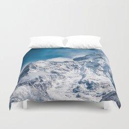 Ama Dablam Himalaya Mountain Duvet Cover