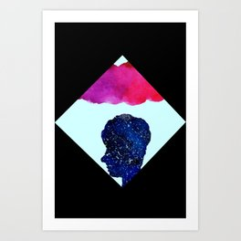 Stars in our Heads Art Print