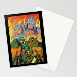 TMNT HEROES IN THE HALF SHELL Stationery Cards