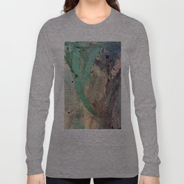Sea Side Splatter Long Sleeve T-shirt