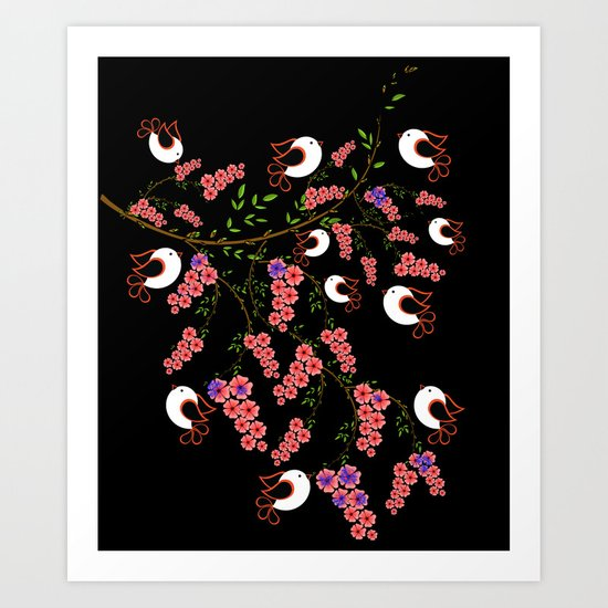 love bird Art Print