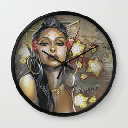 Opium Apparition Wall Clock