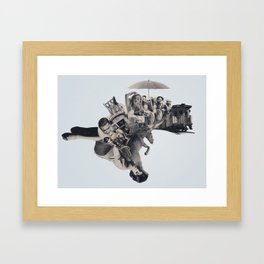 The Finish Line Framed Art Print