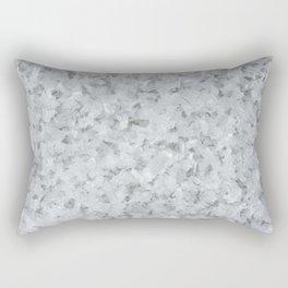 Crystals of ice Rectangular Pillow