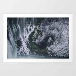 Burney Falls Art Print