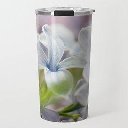 Macro shot of lilac flower Travel Mug