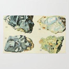 Vintage Minerals Chart Rug