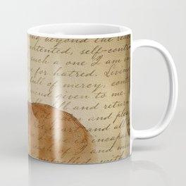 Golden Retriever calligraphy Coffee Mug