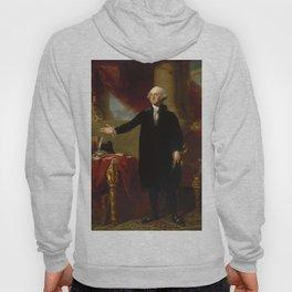 Vintage George Washington Portrait Painting 2 Hoody
