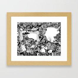 Landfill Pt. 1 Framed Art Print