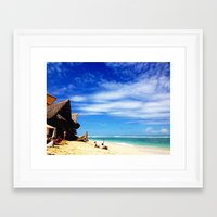 indonesia Framed Art Prints featuring BALI, Indonesia  by BRIELLE LEVY