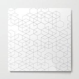 cubic vee Metal Print