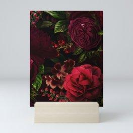 Vintage & Shabby Chic - Vintage & Shabby Chic - Mystical Night Roses Mini Art Print