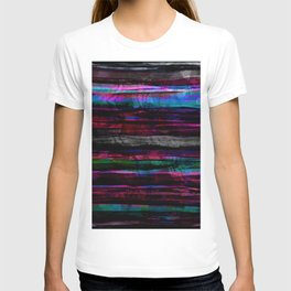 colorful abstract painting T-shirt