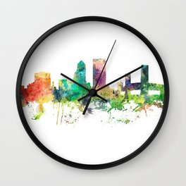 Jacksonville, Florida skyline SP Wall Clock