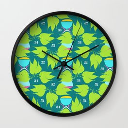 Natural Numbers Wall Clock