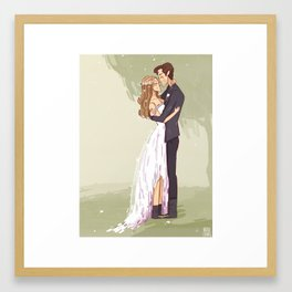 Kabby Wedding Framed Art Print