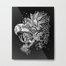 Eagle Warrior Metal Print