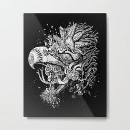 Eagle Warrior Metal Print