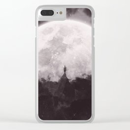 The Moon and I Clear iPhone Case