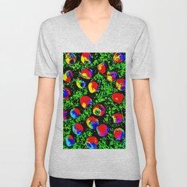 Colorful Nuts Unisex V-Neck