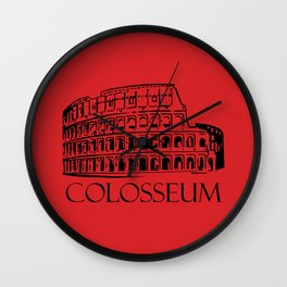 Colosseum, Rome Wall Clock