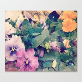 Photo Flower Canvas Print