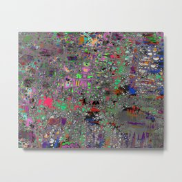 comic crash bang booom Metal Print